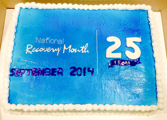 National Recovery Month Cake1