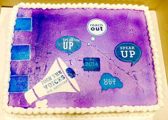 National Recovery Month Cake2