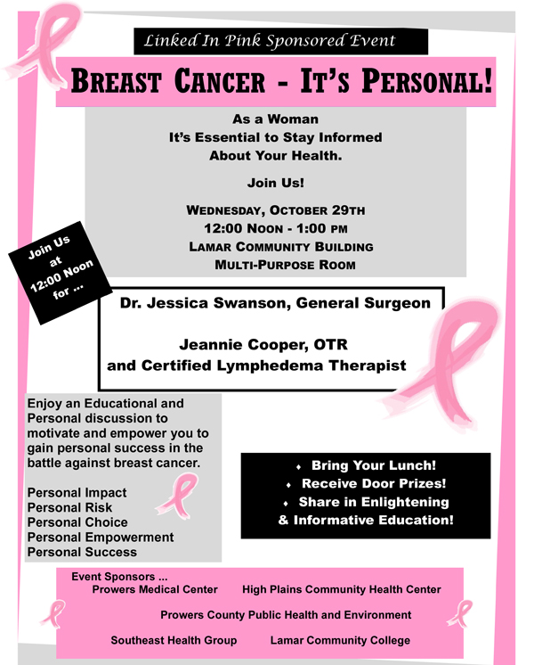 Breast-Cancer---It's-Personal-Flyer