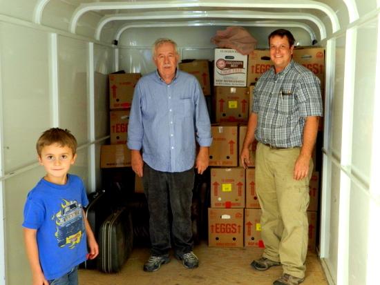 Ken Callison and Helpers