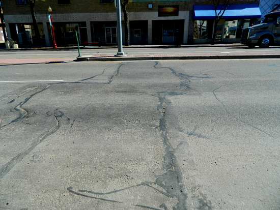 Site of Past Main Street Repairs