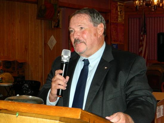 LCC President, John Marrin