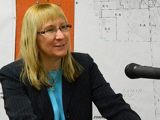 Kim Verhoeff During City Council Interview