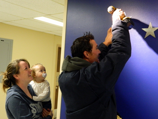 Putting a Star on the  Wall