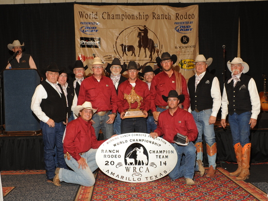 Colorado World Champs-Kneeling Jesse and Phy & in back Dustin, Nick and Kyle
