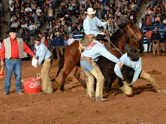 Dustin-Roping; Nick-Branding; Phy & Kyle-Flanking Colt