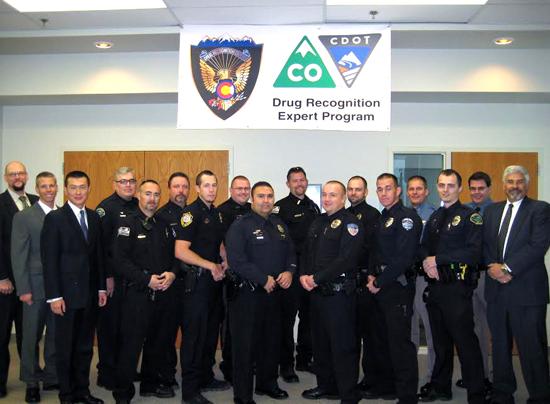 Officers in DRE Class Held in Lamar