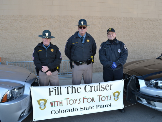 CSP Officers Gilmore, Casebolt and Port of Entry Officer Dieterle