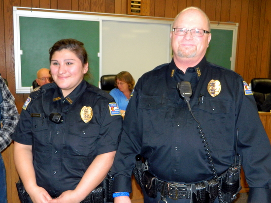 Officers Clevenger and Williamson