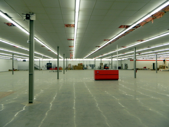 Looking West in Store Interior