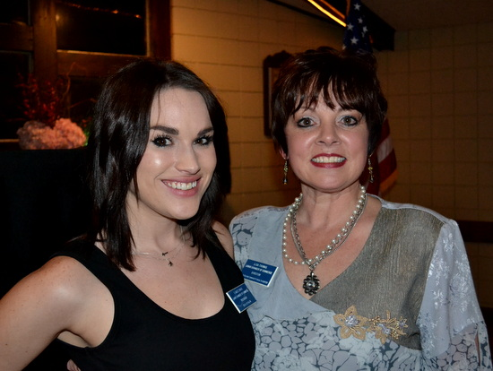 Chamber Presidents, Kynlee Emick (L) and Lisa Thomas (R)