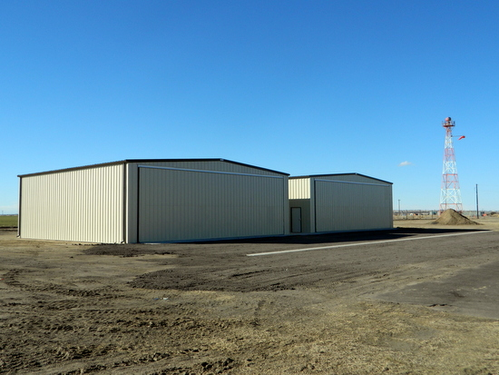Recently Constructed Hangars