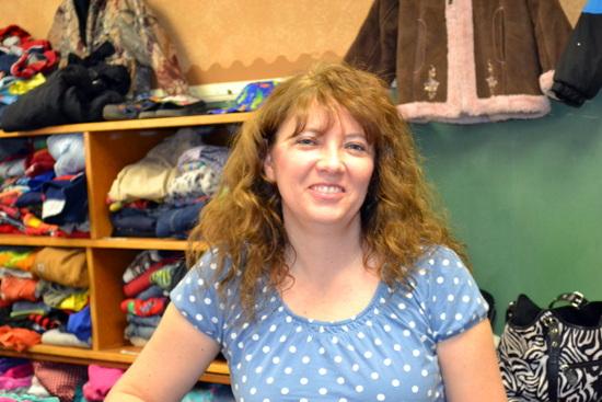 Sherry Becker, Creator of Helping Hands Clothes Center