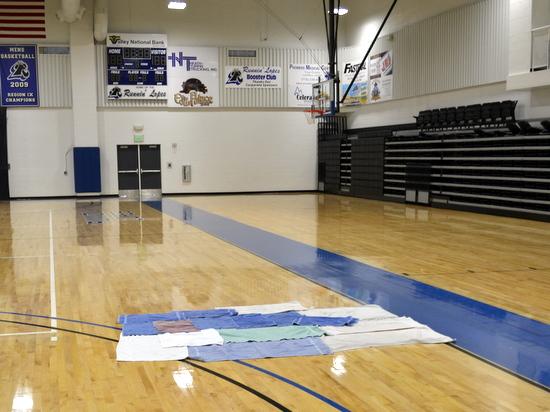 Wellness Center Basketball Court