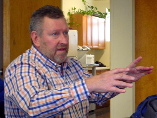 Mark Stgacy, Iberdrola Representative