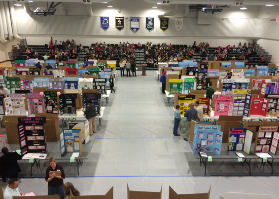 Science Fair at LCC