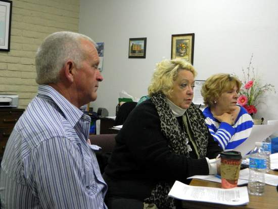 Panel Members, Brad Semmens, Ruthie Esgar and Myrna DuVall