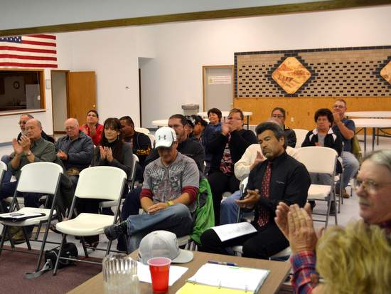 Capacity Crowd on Road Issues
