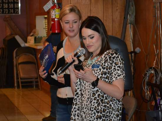 Lisa Carder and Kynlee Emick Select a Song