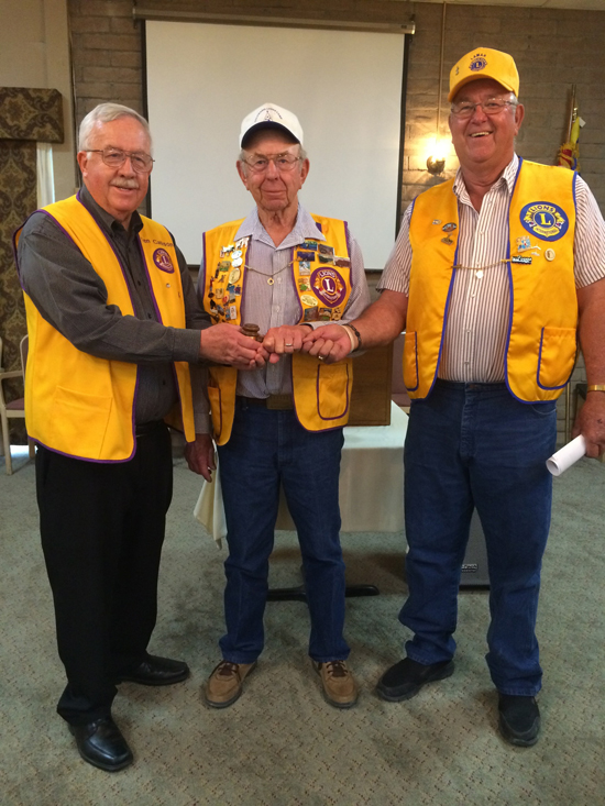 Ken Callison, Chester Vetter and Leroy Mauch