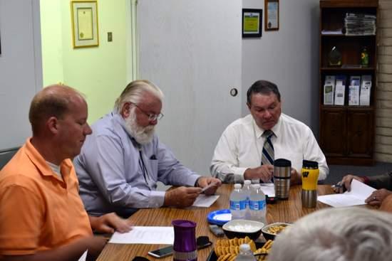 PCDI Board, Aaron Leiker, George Gotto and John Marrin