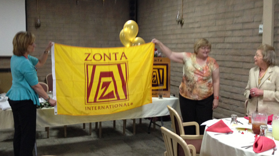 Beverly Augustine Being Recognized for 60 years as a Zontian