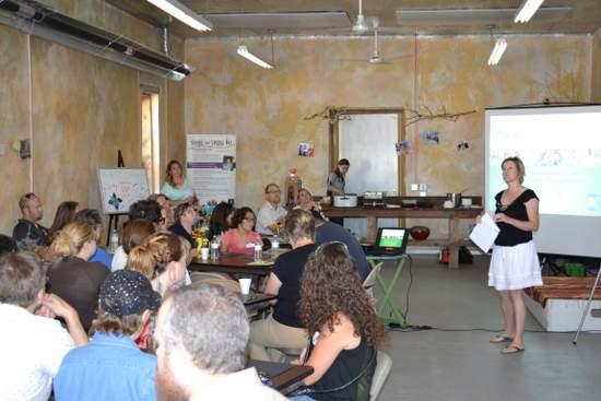 Emily Nieschburg Addresses Amache Farms Gathering