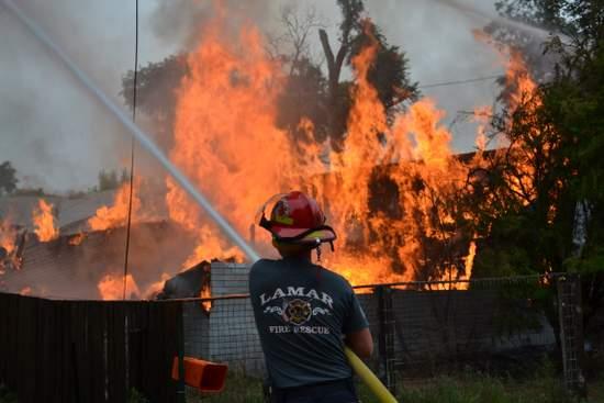Fireman on Controlled Burn