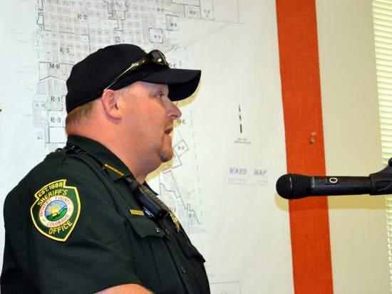 Prowers County Sheriff Sam Zordel