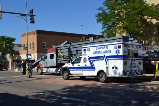 Lamar Fire and Ambulance Respond