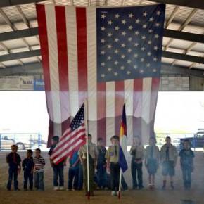 Traditional Flag Retirement Ceremony