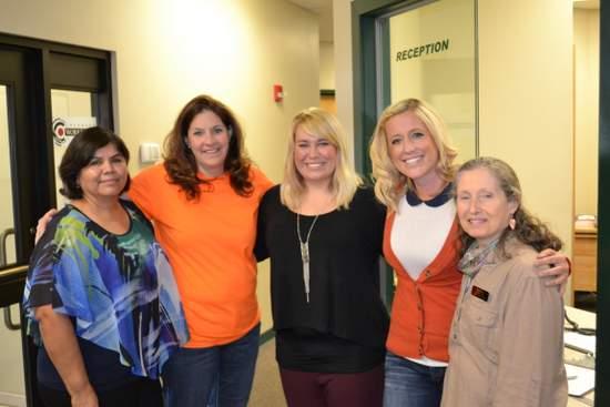 HPCHC Representatives Visit the Center