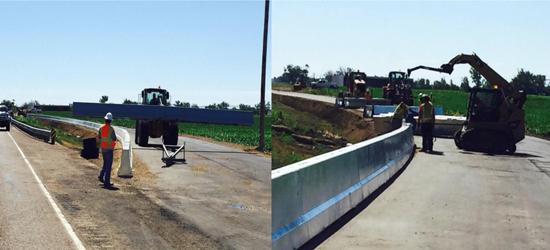Steel Highway Construction Barrier