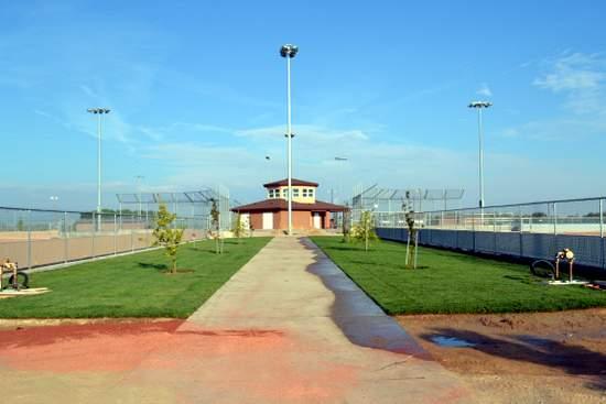 Entrance to Sports Plex