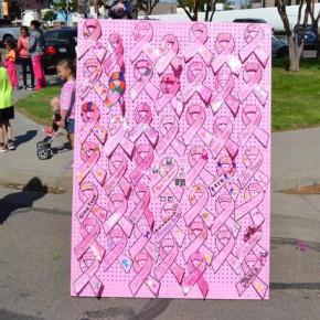 Linked in Pink Memorial Board