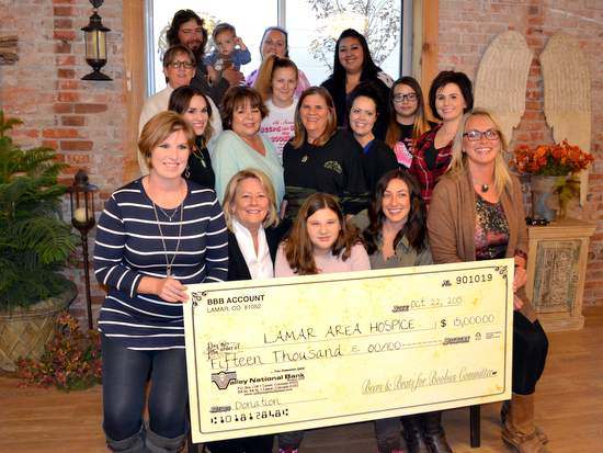 BBB Donation to Lamar Area Hospice