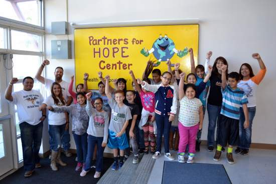 HOPE Center Students and Staff/Volunteers
