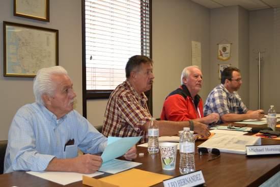 Board Members Hernandez, Horning, Thrall, Beard