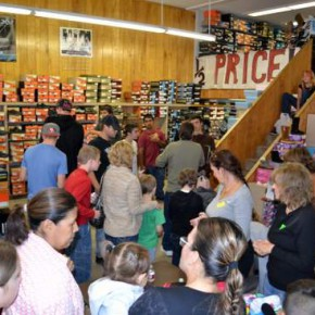 Share the Spirit Foundation Holds Annual 'Shoe-Fest'