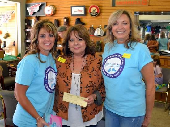 Chana Reed, Rose Ann Yates and Karen Voepel