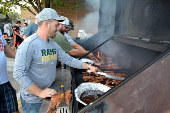 Firing up the Grill at Savage Stadium