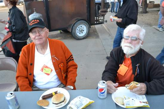 Paul Hildebrand and Ted Applegate, Class of 1951