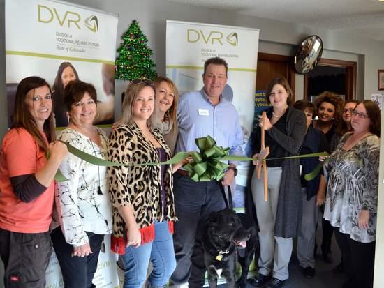 Lamar Chamber and DVR Representatives at Ribbon Cutting