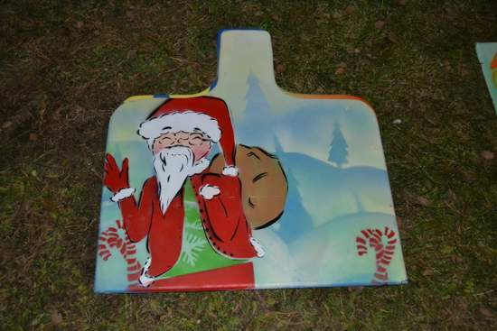 Panel for the Santa Express