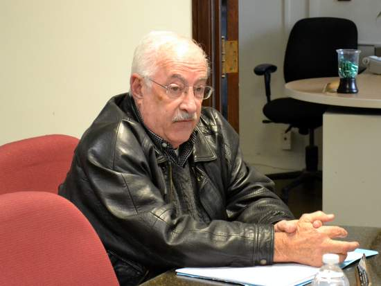 Prowers County Coroner Joe Giadone