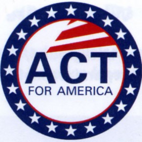 ACT! for America to Host Voter Registration Drive