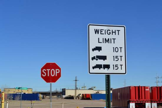 Posted Weight Limits
