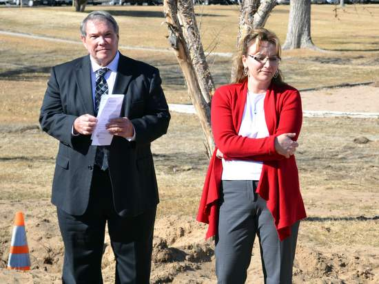 John Marrin and Anne Marie Crampton, Foundation Executive Director