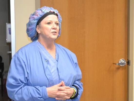 Head Operating Room Nurse Christy Dobrovolny