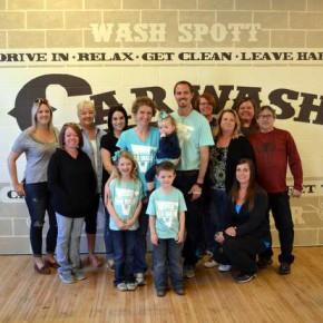 Honkers Help Wash Spott Celebrate Grand Opening
